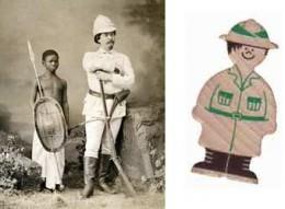 """La ficha de explorador, al más puro estilo Stanley, parece a punto de decir la famosa frase:""""Doctor Livingstone, supongo"""""""
