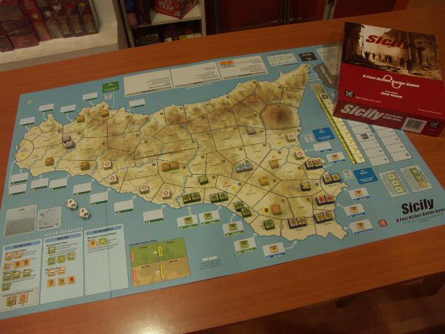 Parte del despliegue inicial. Los aliados han iniciado su avance en Sicilia.
