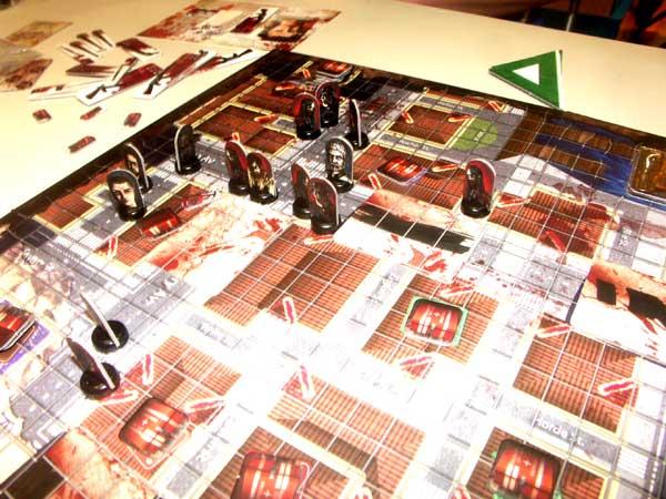 Los zombies cortando el camino de escape